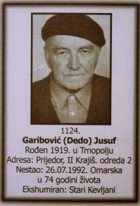 """Jusuf """"Garib"""" Garibovic"""